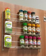 SPICE / JAR RACK - 3-tier in 3 door width sizes (ECF WWSR303/SR403/SR503)